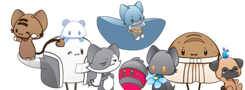 The Characters of BeKyoot