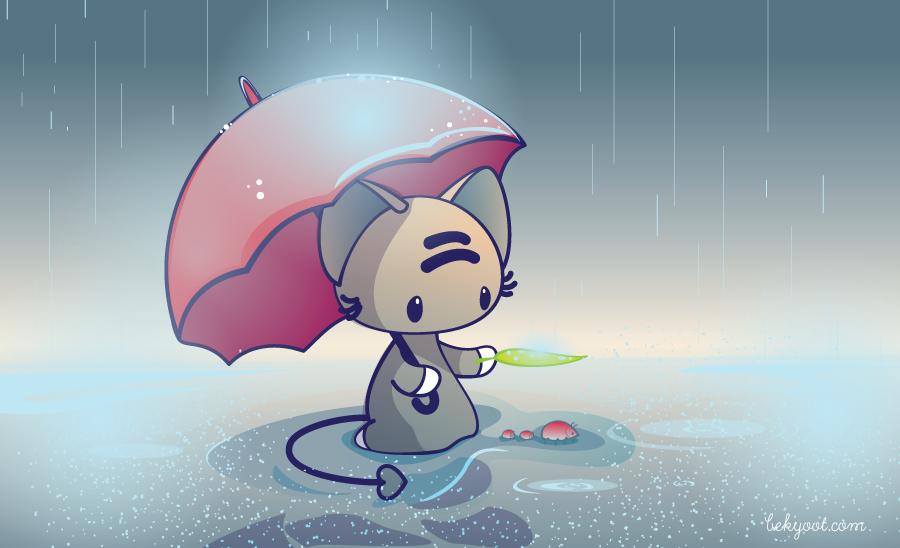 Sketch09-Umbrellas