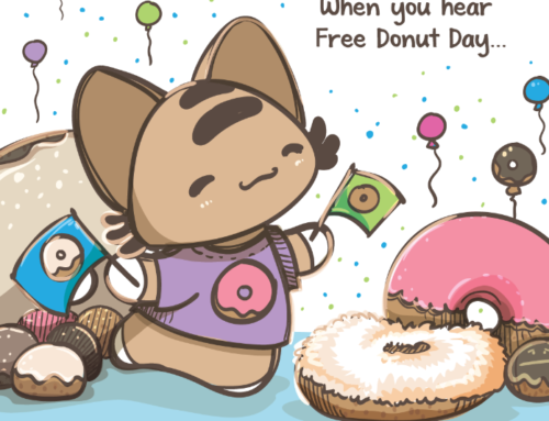 Comic: Free Donut Day