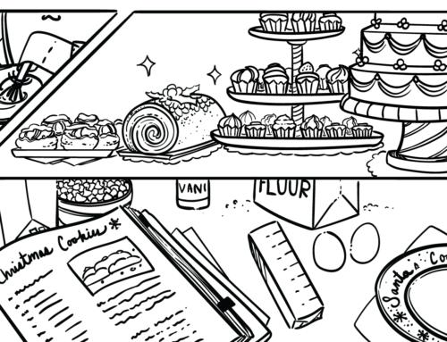 Webcomic: Santa's Cookies – A Short Story